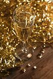 Champagne setting.