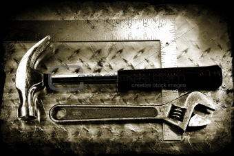 Grunge work tools