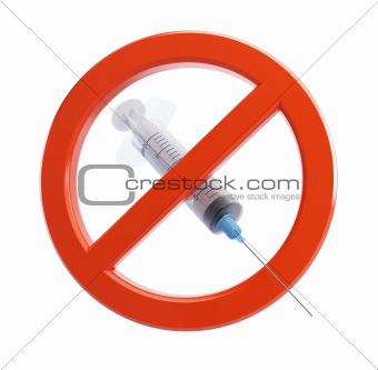 no syringe