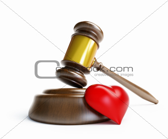divorce in court