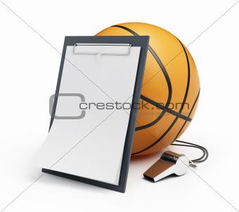 basketball whistle judge