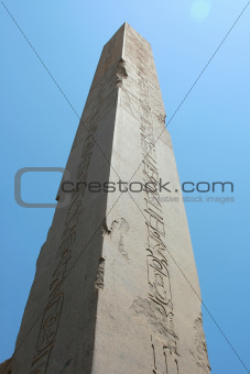 Obelisk, luxor Karnak Temple in Egypt