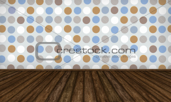 Interior Background with Complementary Colors