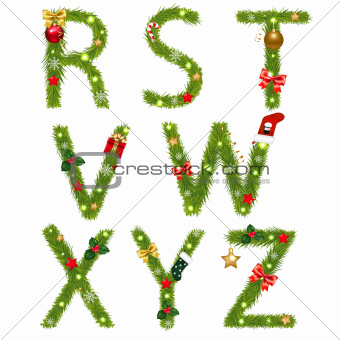 Christmas Alphabet