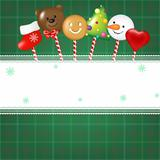 Christmas Card With Candies