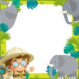 The nature frame - safari