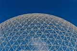 Dome of the montreal biosphere 