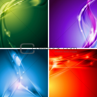 Colourful vector backgrounds