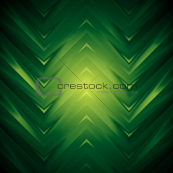 Abstract dark green vector design