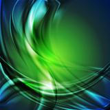 Modern vector background with abstract waves