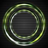 Abstract shiny rings