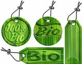 Bio Green Tags - 4 items