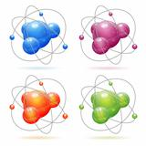 Set Atom Model