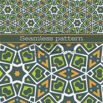 Seamless pattern for wallpaper