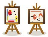 Modern Art Pieces