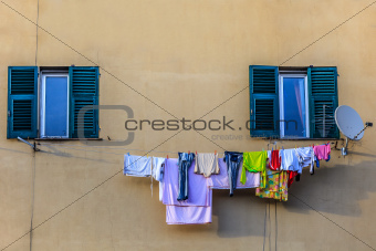 laundry to dry