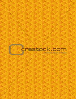 Chinese Fish Scale Pattern Background