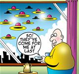 Attack of the flying saucers