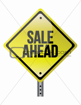 Sale Ahead sign