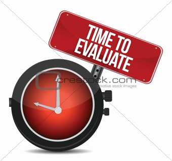 Time for Evaluate concept