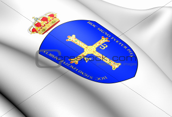 Asturias Coat of Arms, Spain.