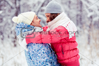 Winter embrace