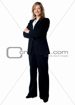 Full length portrait of an experienced business woman