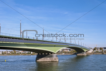 Kennedy Bridge in Bonn, Germany