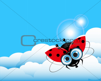 Ladybug in the Sky