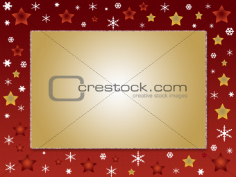 Christmas design frame