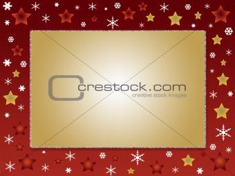 Christmas design frame