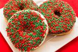 Christmas Doughnuts
