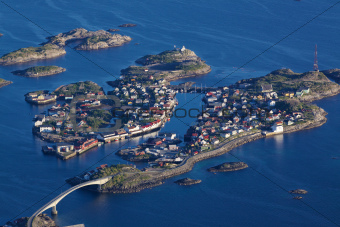 Scenic Henningsvaer