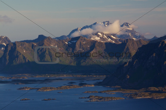 Picturesque Lofoten islands
