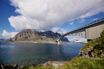 Norwegian bridge