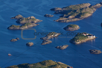 Islets on Lofoten
