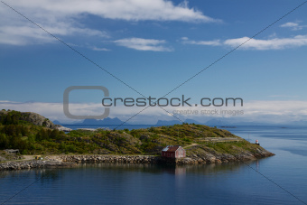Fishing hut on Lofoten