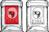 Isolated Fire Alarm Box