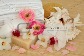 Floral Spa Treatment