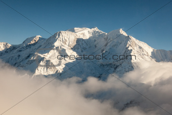 Mont Blanc in Winter