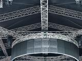 structures of stage illumination lights equipment projectors