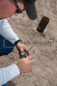 Pyrotechnic Expert Wiring a Remote Control
