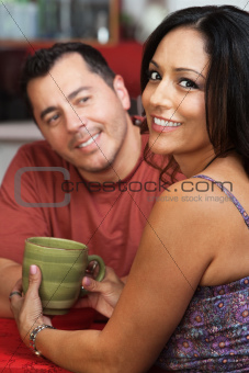 Attractive Mexican Couple