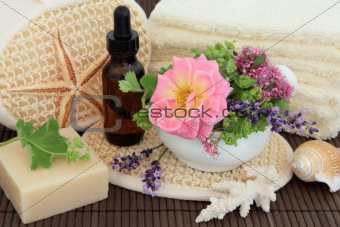 Flower and Herb Spa