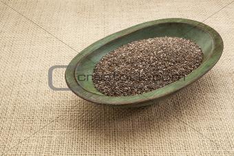 chia seed bowl