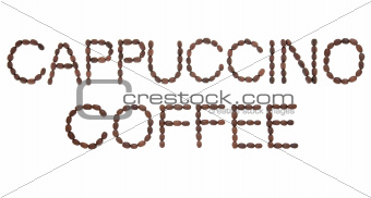 Cappuccino Coffee Sign