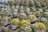 Otagi Nenbutsu-ji Rakan Statues