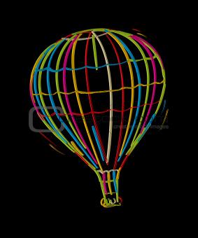 Funky balloon