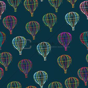 Seamless Balloons pattern