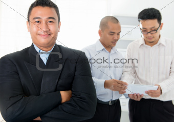 Southeast Asian business men